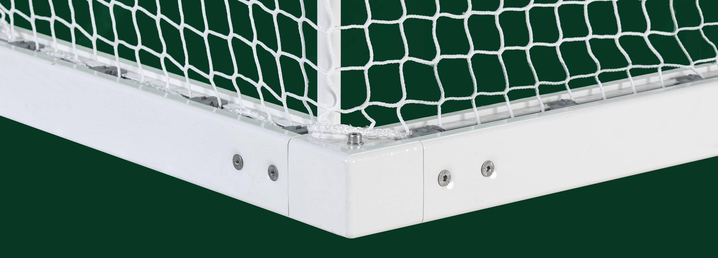 Fussballtor Bodeneckverbinder